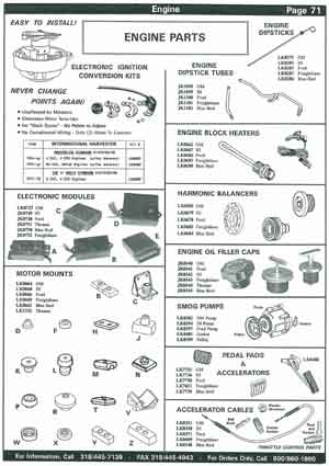 school bus engine parts